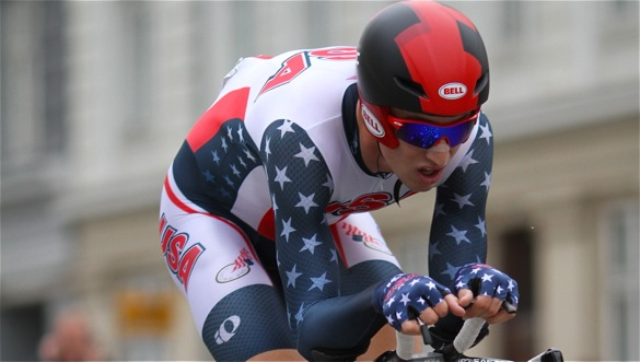 Aerodynamic Position during Time Trial