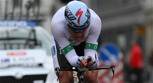 Richie Porte at World Championships 2011