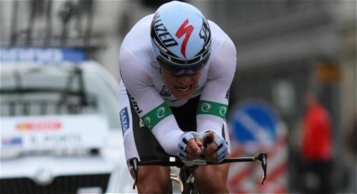 Richie Porte at World Championships 2011