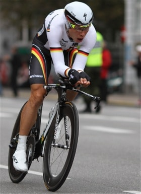 Tony Martin has perform many hours of specific time trial training.